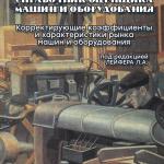 Выход второго издания Справочника оценщика машин и оборудования